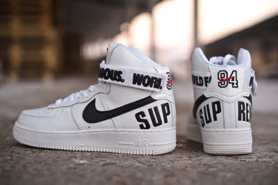 Кроссовки Nike Air Force 1 x Supreme