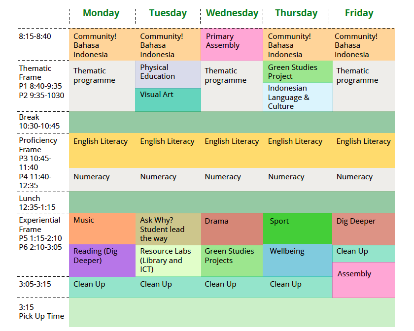 Timetable-Primary-School-Green-School-Bali