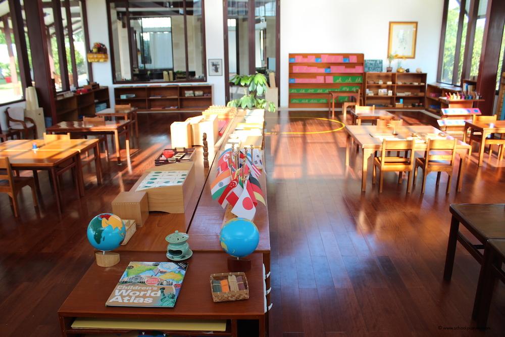Preschool-Klassenzimmer-Montessori-School-Bali