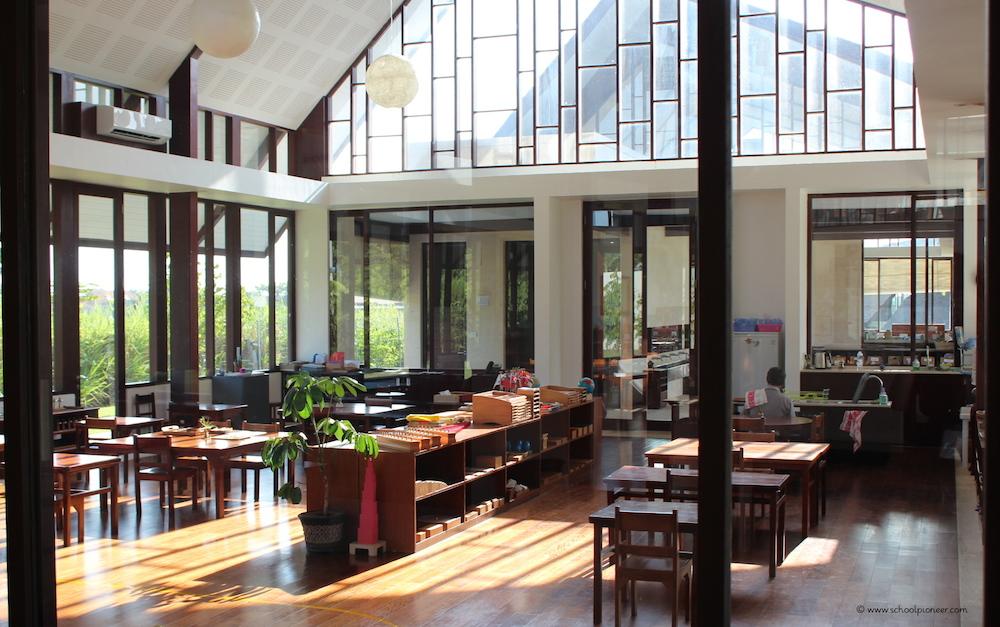 Klassenraum-Montessori-School-Bali