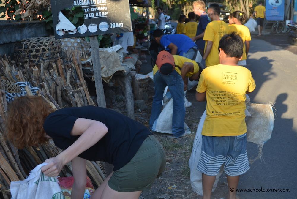Müll-sammeln-Trash-Heroes-Amed-Bali