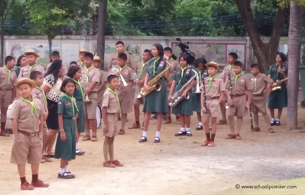Schulorchester-Wat-Lamai-School