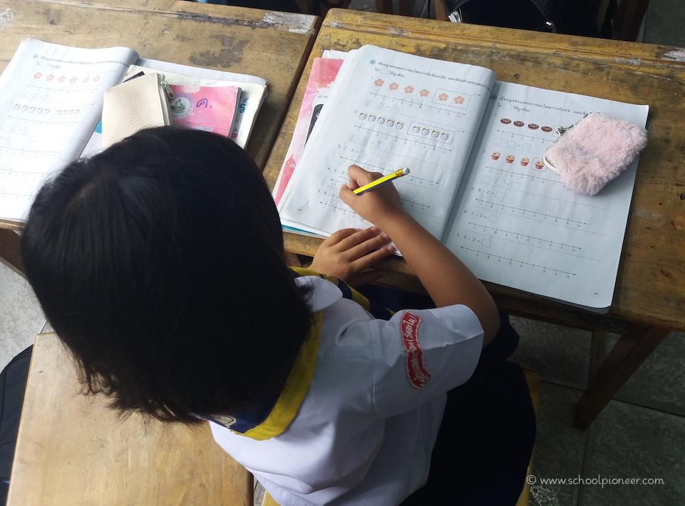 Einzelarbeit-Mathematik-Prathom-1