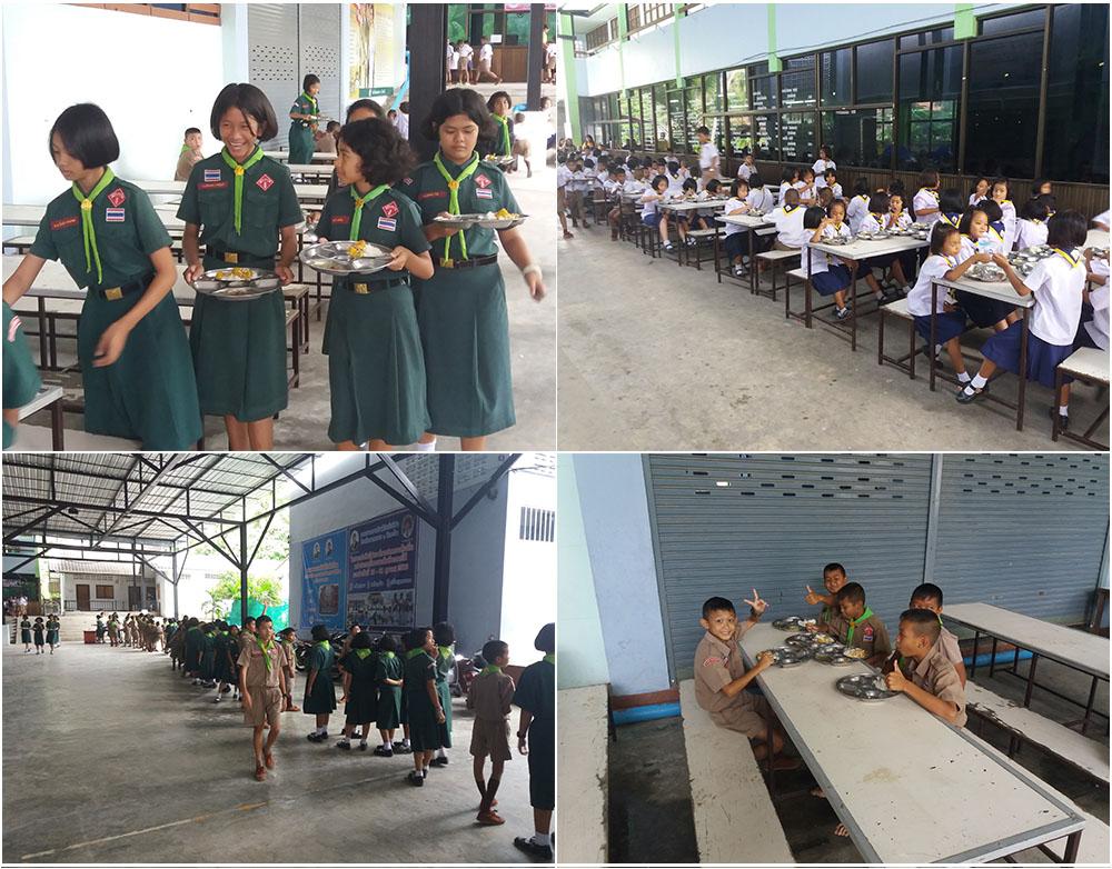 Mittagessen-Thailand-Koh-Samui-Wat-Lamai-Grundschule