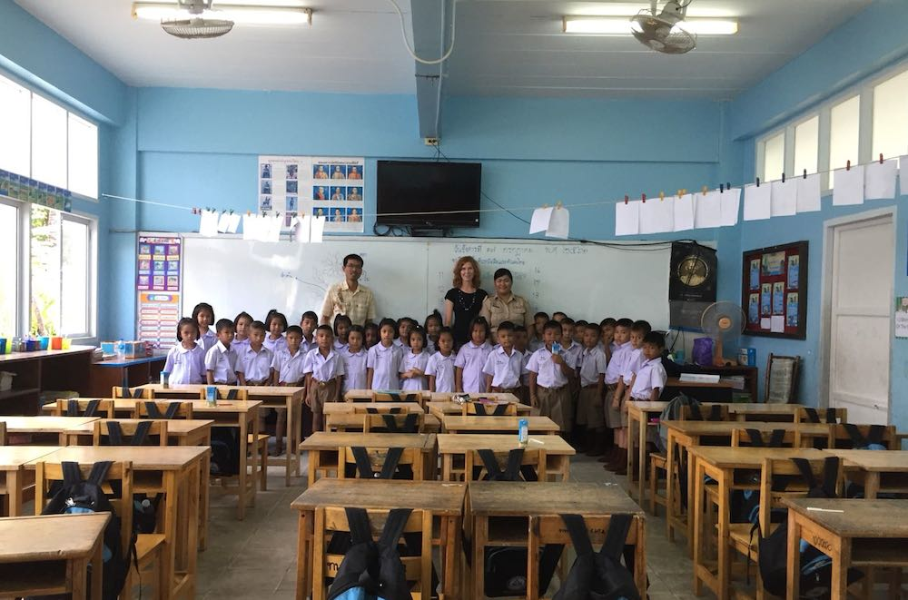Thailand-Grundschule-Klasse-1