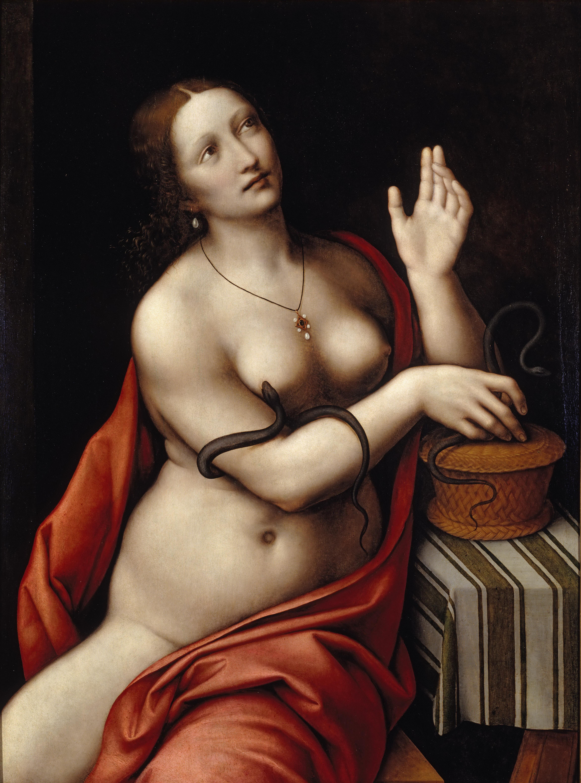 Giampetrino, 1495-1549. Клеопатра. 1524-1526. Левисбург, Художественная галерея университета Бакнелла