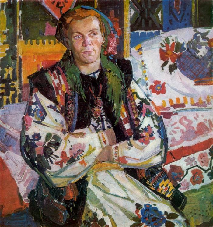 Гуцулка из Яворова Василина. 1965 г