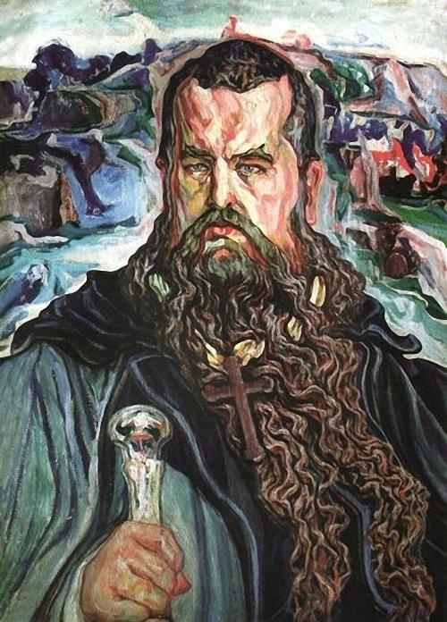 Моисей (портрет митрополита Андрея графа Шептицкого). 1915-19 гг.