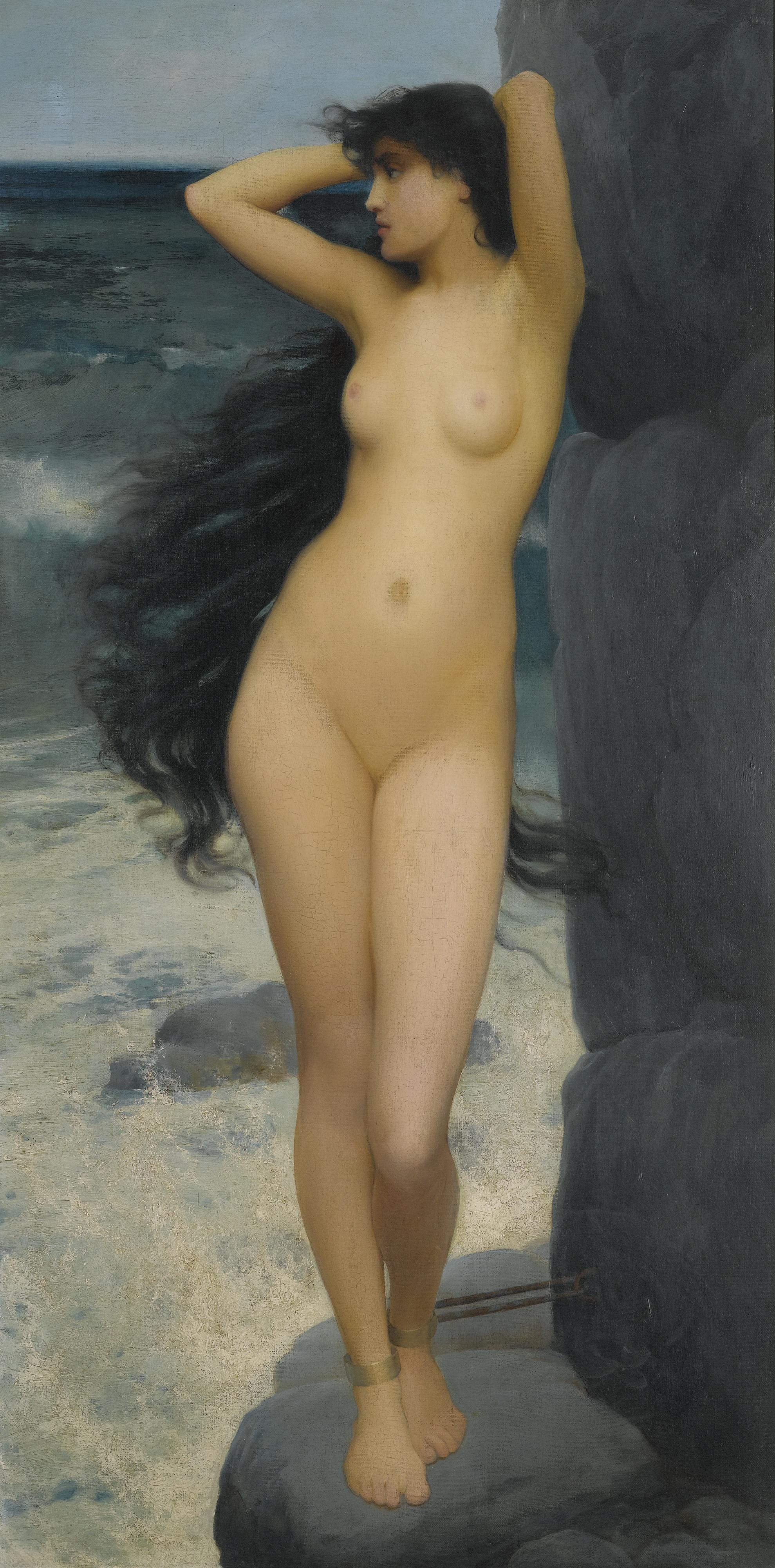 Philip John Thornhill, 1875-1912. Андромеда. 101.5 х 51 см. частная коллекция