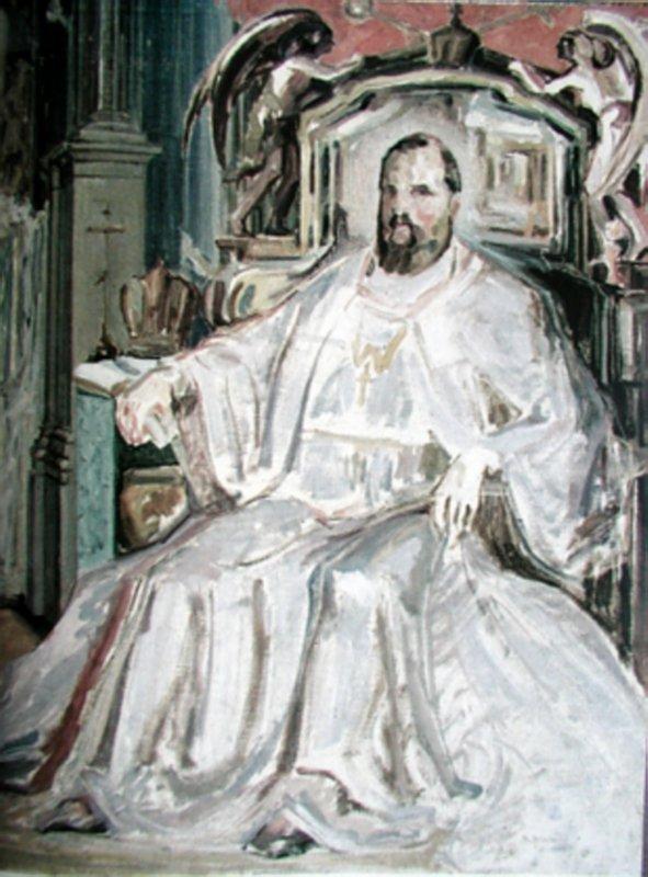 Портрет Митрополита Андрея Шептицкого. 1924 г.