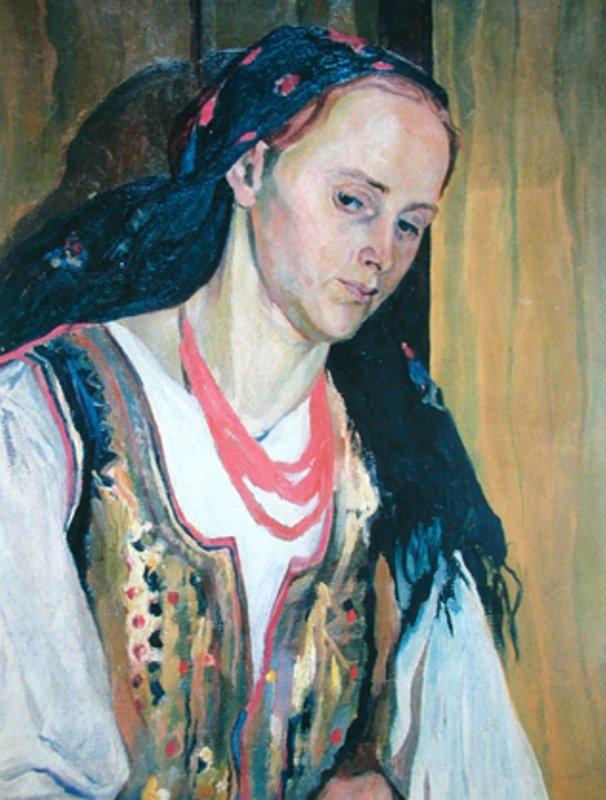Портрет жены. 1906 г.