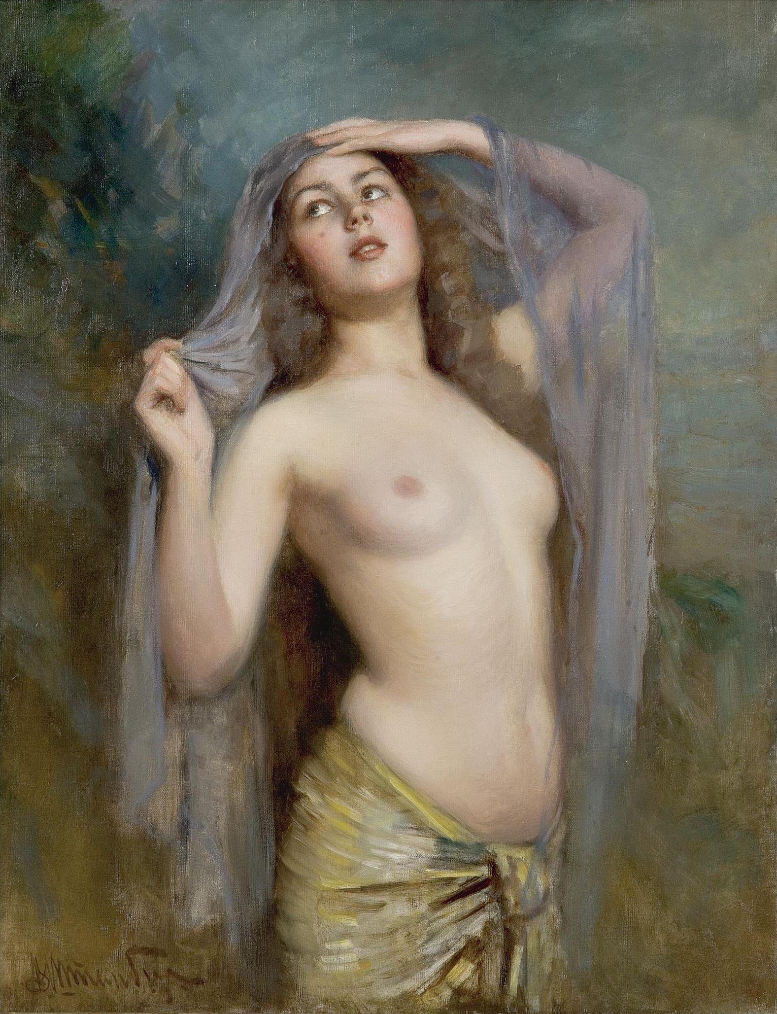 Штемберг Виктор Карлович, 1863-1921. Утро. 103 х 80 см