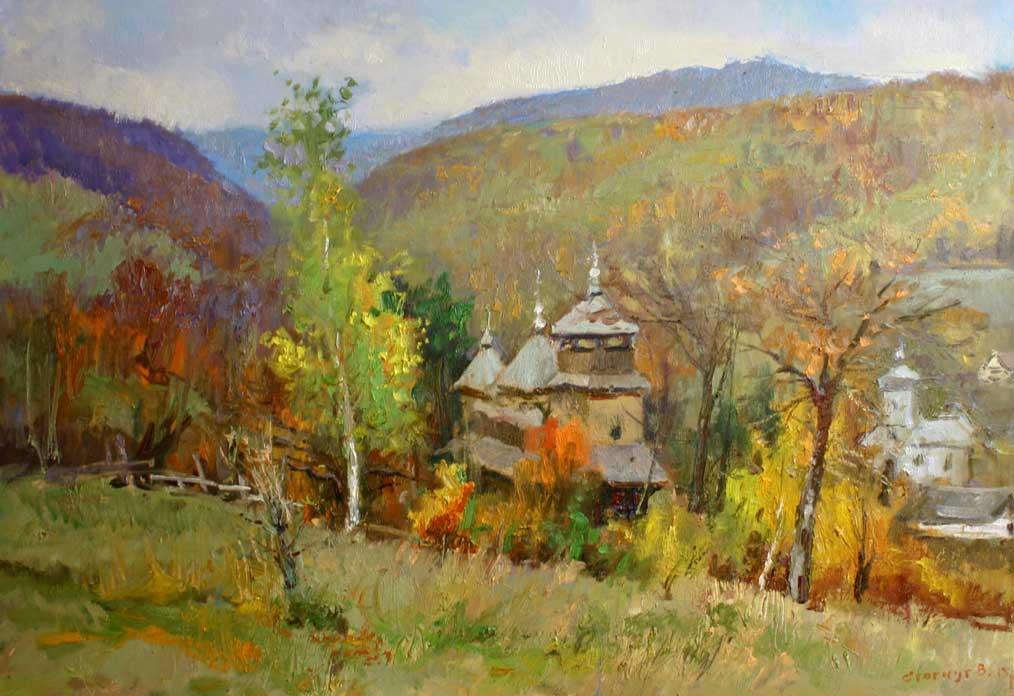 Церква в селі Костирно1