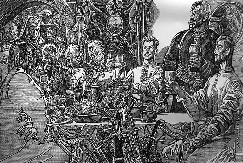 Ілюстрації до фільму «Тарас Бульба»2