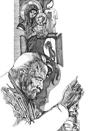 Ілюстрації до роману Л. Костенко «Берестечко»