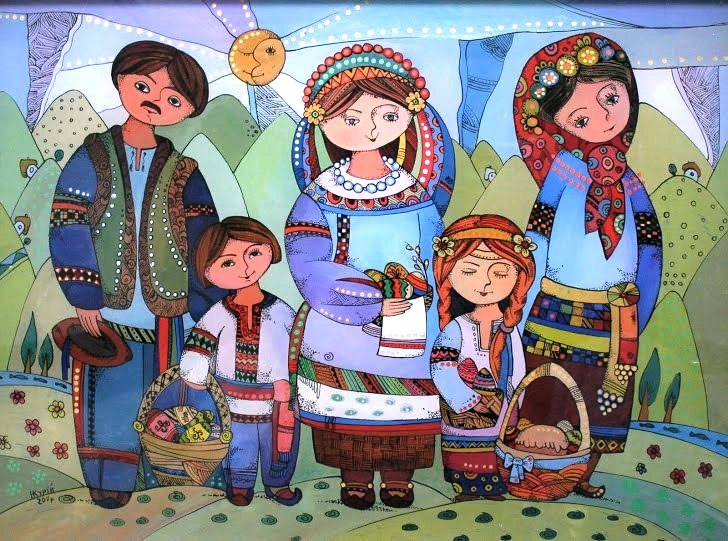 Наталя Курий-Максимів.  Пасхальні дні