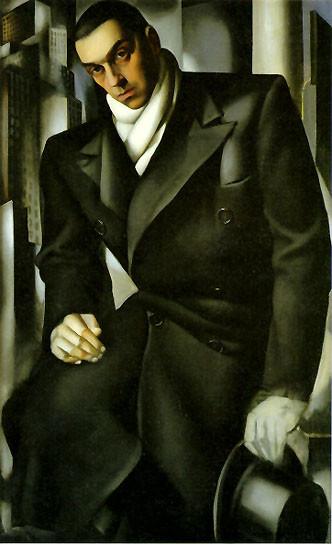 Портрет Тадеуша Лемпицки