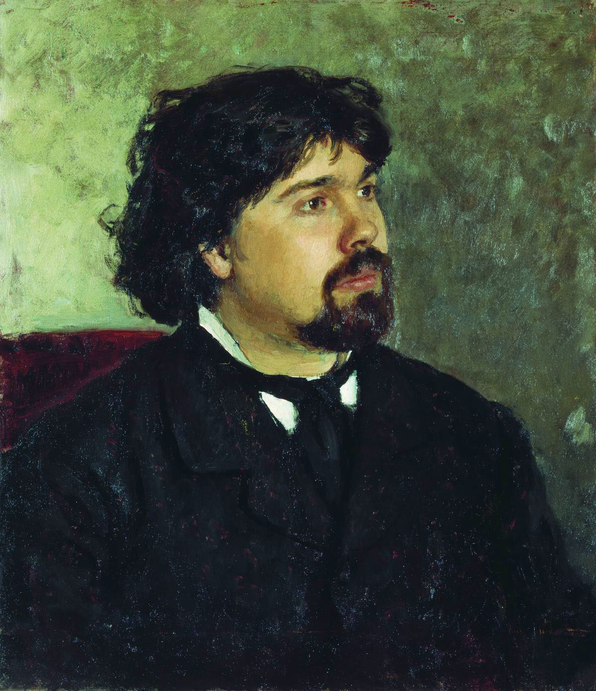 Портрет В.И. Сурикова
