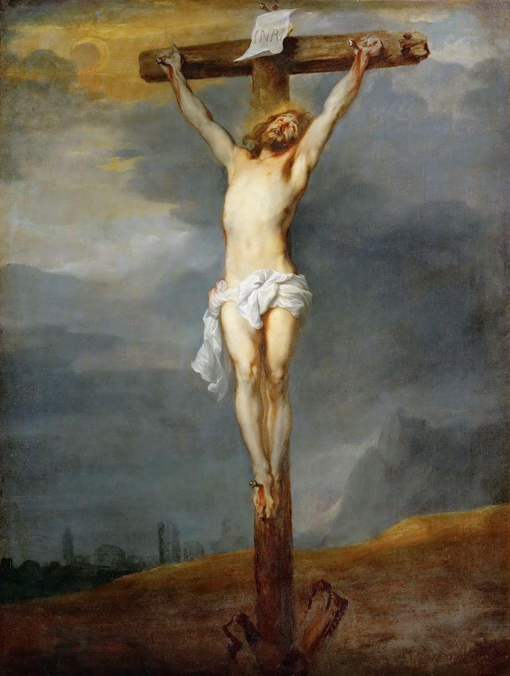 Антонис ван Дейк (1599-1641) Распятие
