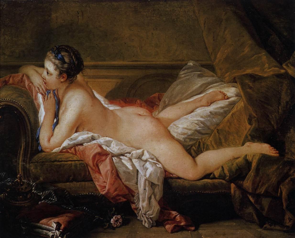Белая одалиска, 1752