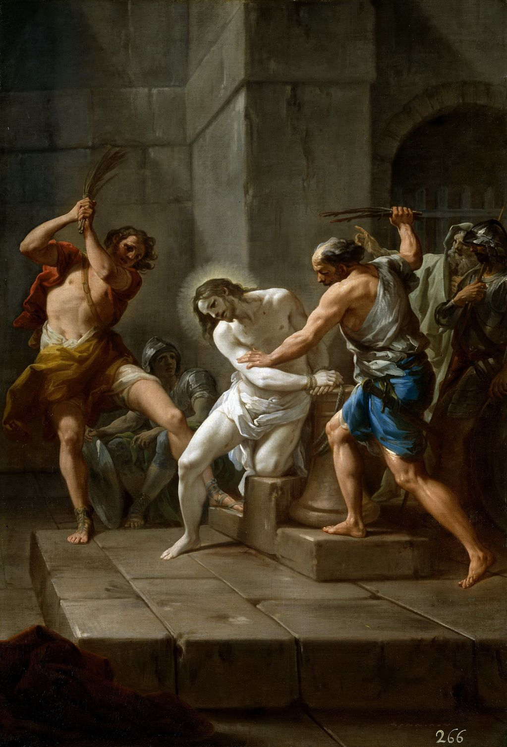 Джакуинто Коррадо (1703-1765) Бичевание Христ