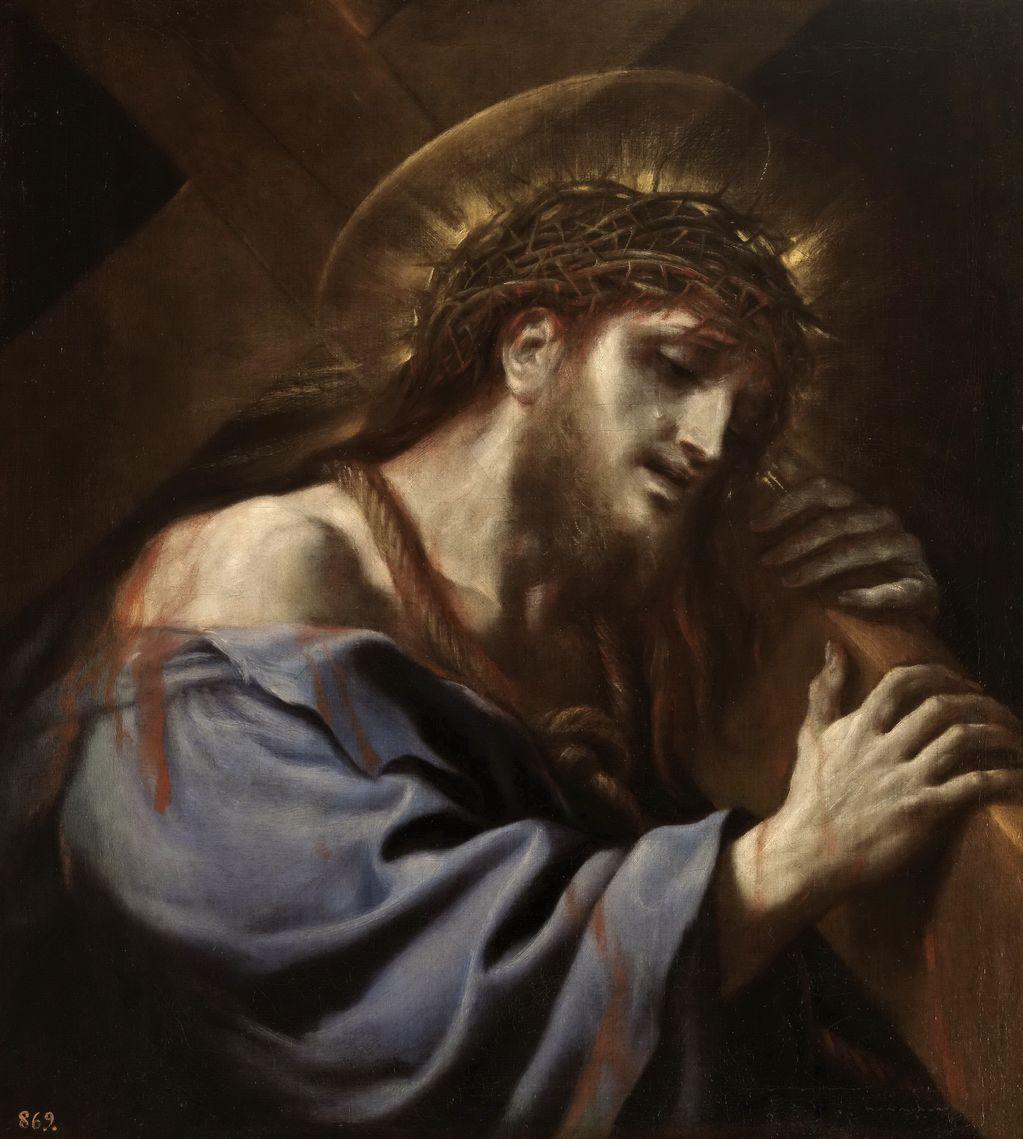 Джордано Лука (1632-1705) Христос с Крестом