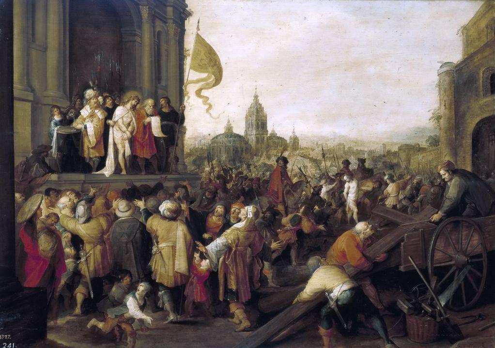 Франкен Младший, Франс (1581—1642) Суд над Иисусом