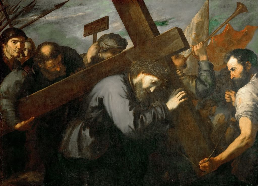 Хусепе де Рибера (1591—1652) Несение креста