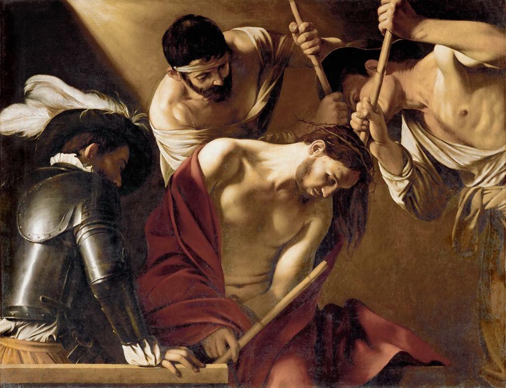 Караваджо (1571-1610) Увенчание тернием