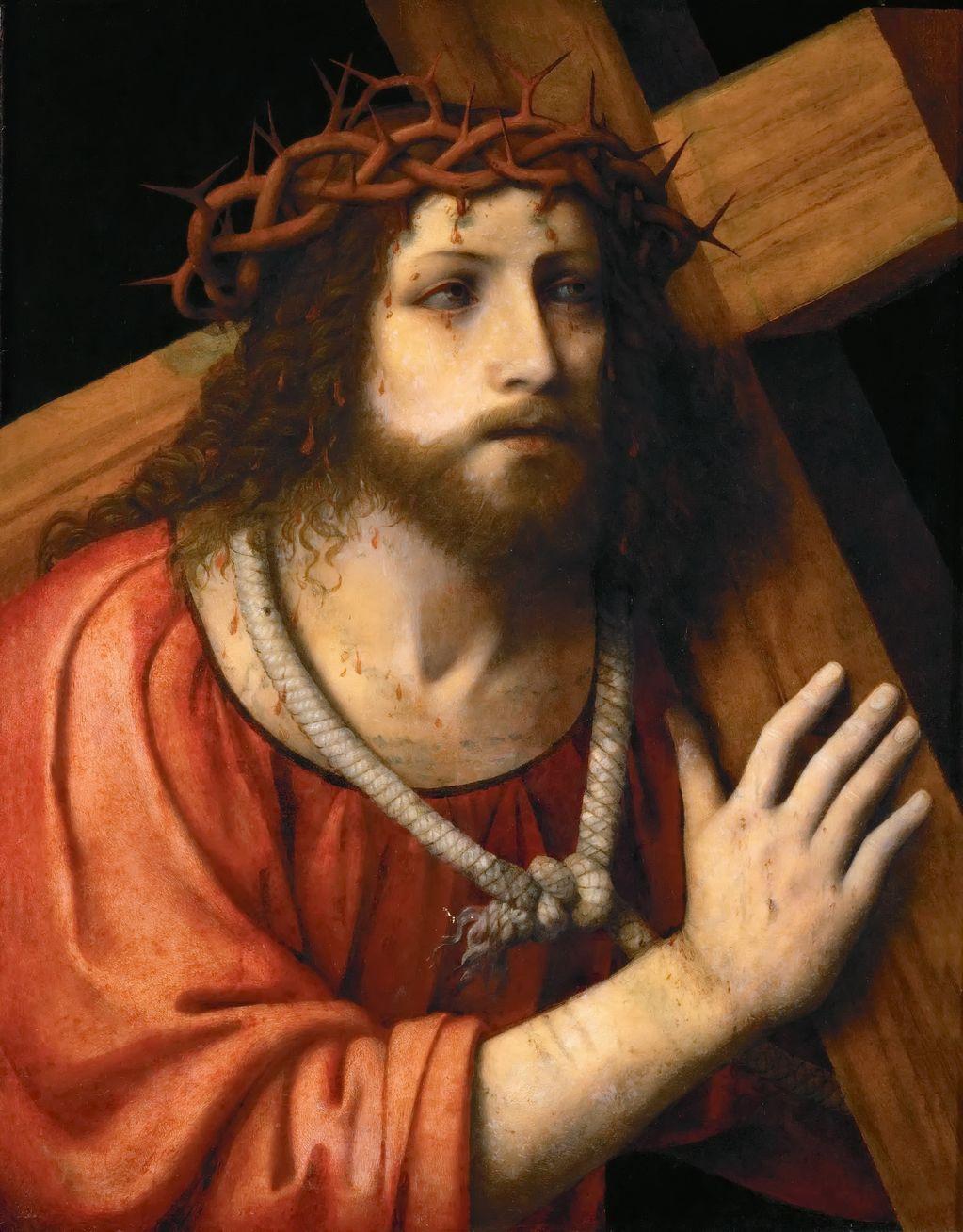 Луини Бернардино (1480 — 1532) Христос, несущий крест