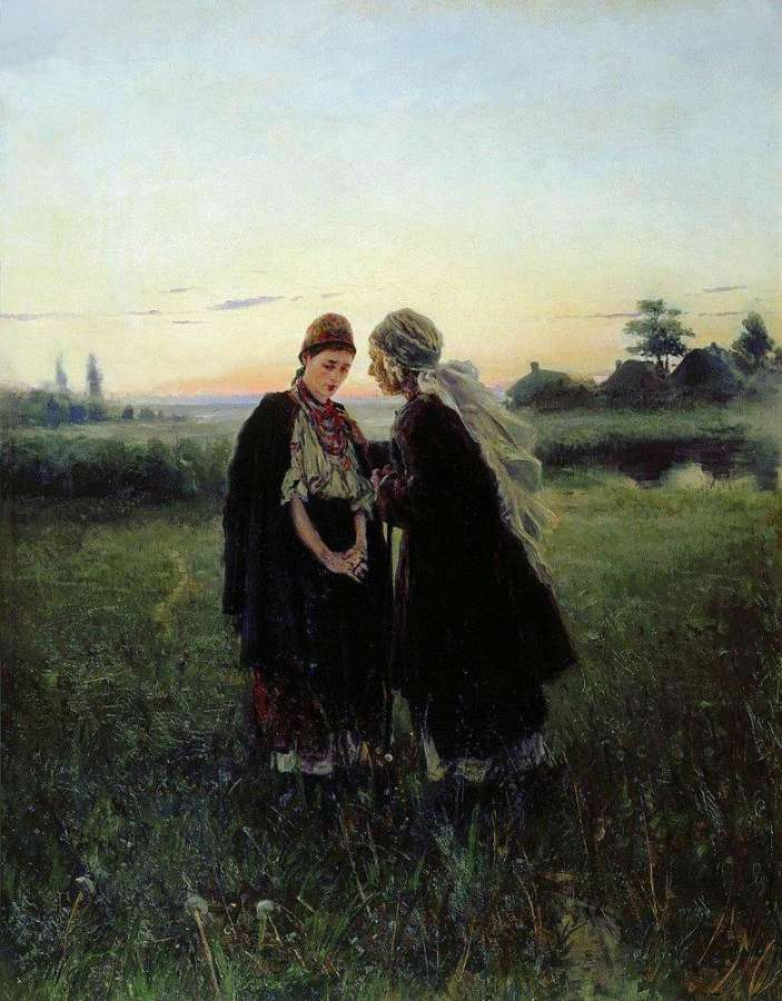 Маковський В. Є. (1846-1920) Мати й дочка