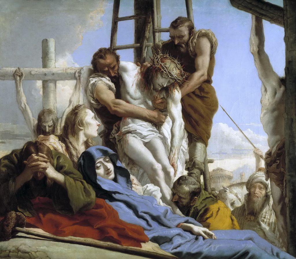 Тьеполо, Джованни Доменико (1727-1804) Снятие с креста