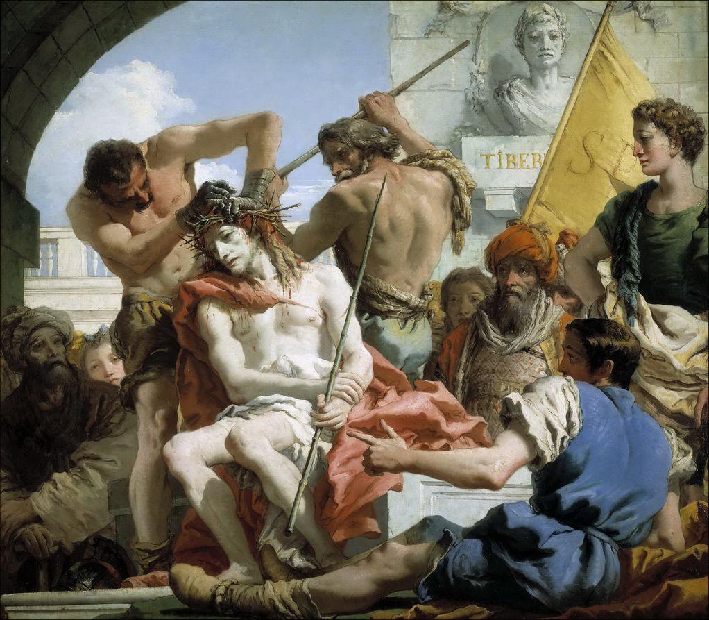 Тьеполо, Джованни Доменико (1727-1804) Увенчание терние