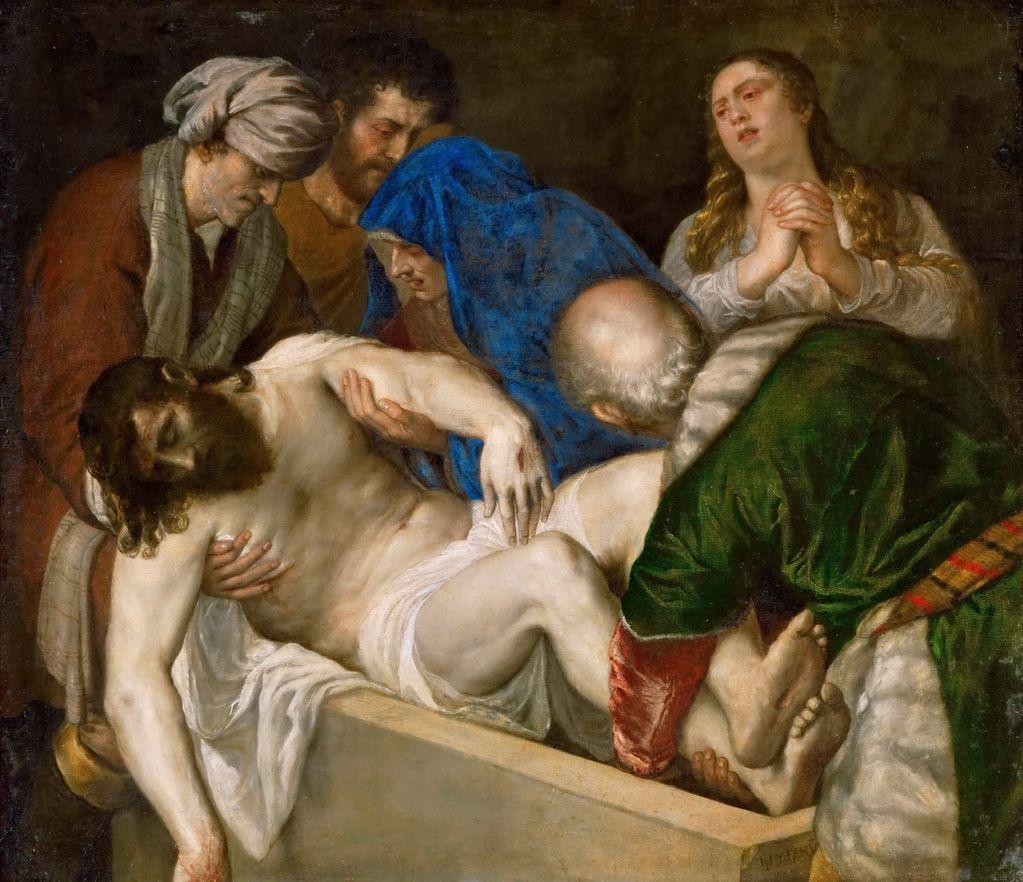 Тициан, мастерская Положение во гроб