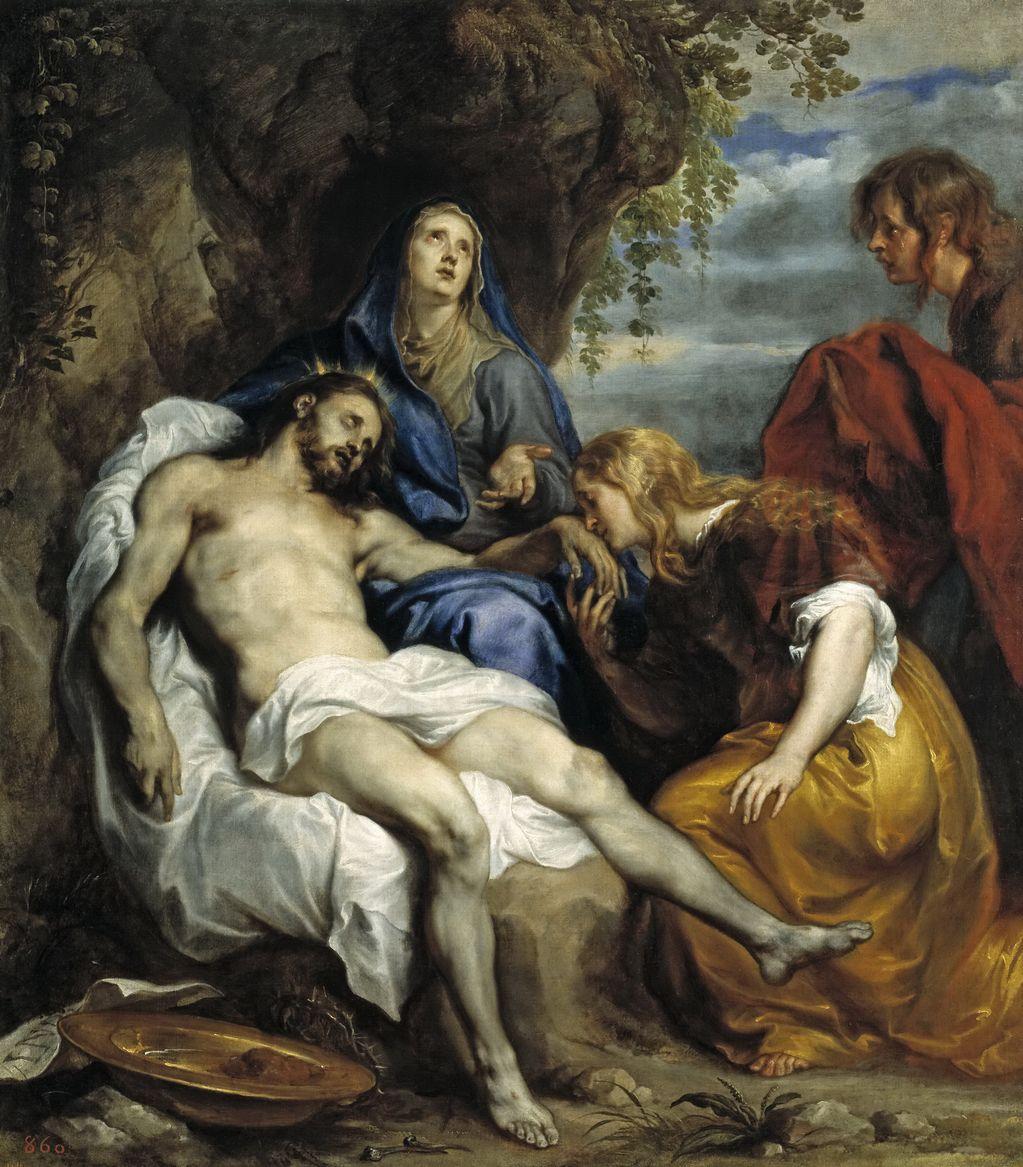 Ван Дейк, Антонис (1599 — 1641) Пьета1