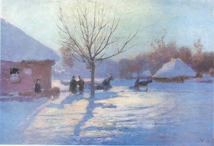 Блакитна зима. Мерефа. Бл. 1915
