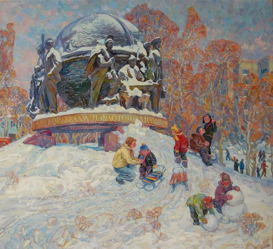 Дочекались снігу, 2012