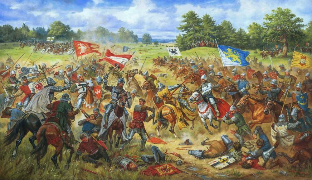 Галицкие хоругви в Грюнвальдской битве 1410 г.