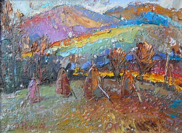 Осінь у Карпатах