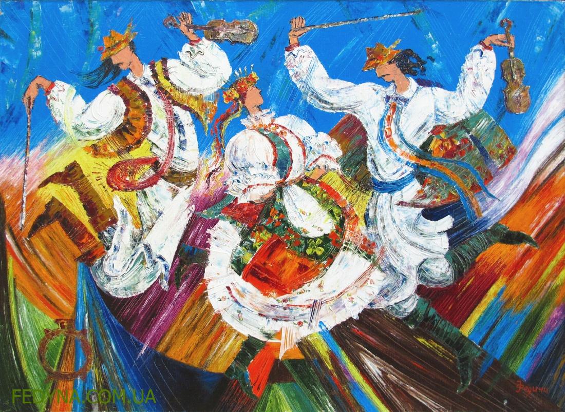 Серія Фольк. Гуцульські танці зі скрипками1