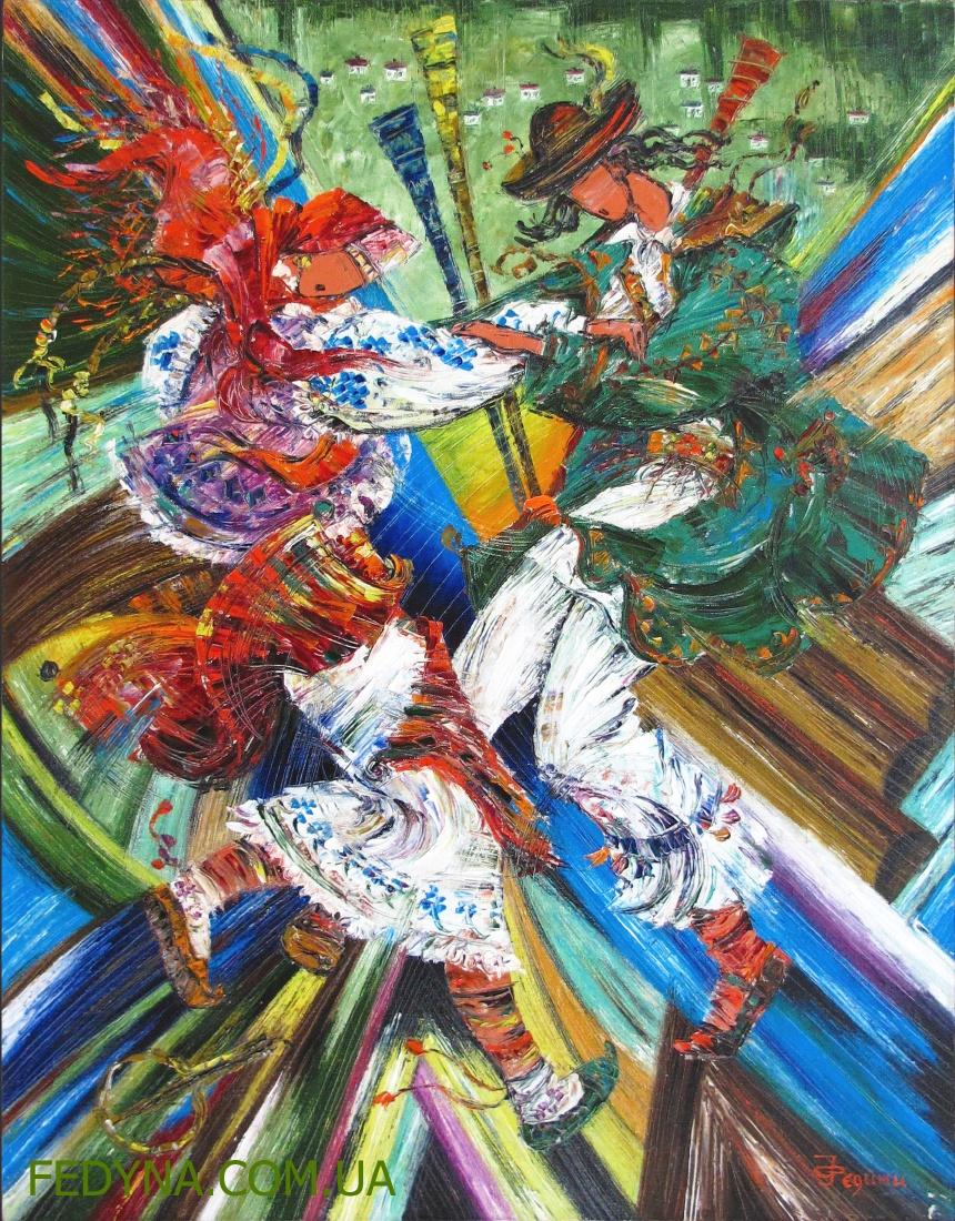 Серія Фольк. Гуцульські танці