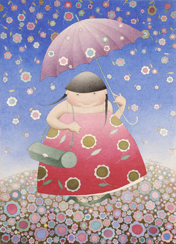 Цветочный дождь