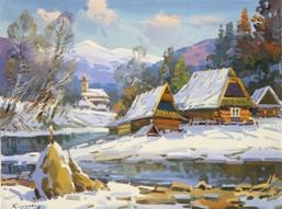 Верховинська зима