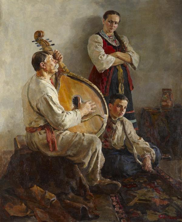 Виктор Васильевич Шаталин (Украина, 1926-2003) Песня бандуриста.