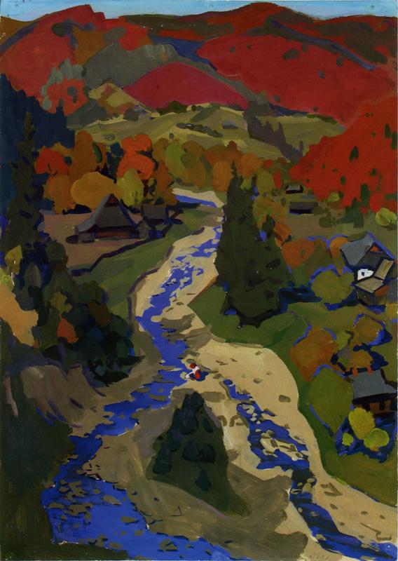 Біжить-дзвенить блакитна річка