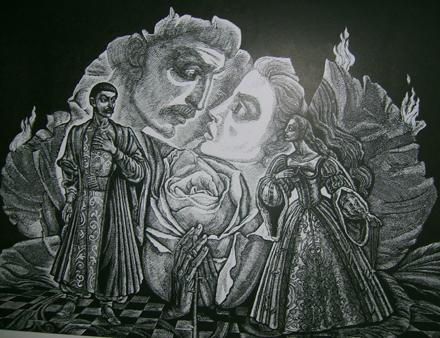 Иллюстрация к Тарасу Бульбе