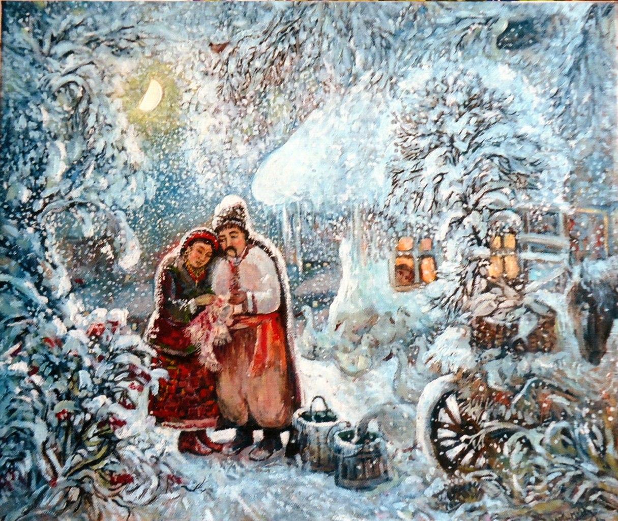 На рождество