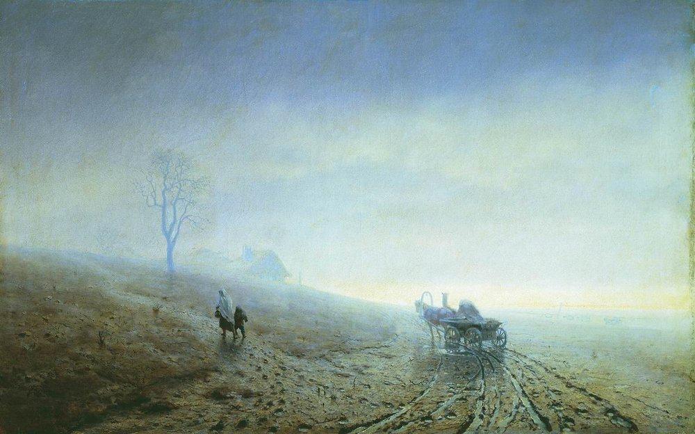 Осіннє бездоріжжя 1872