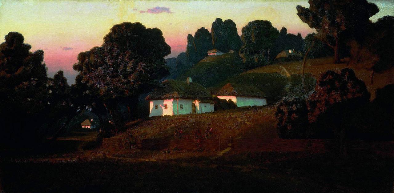 Вечір на Україні» (1878),