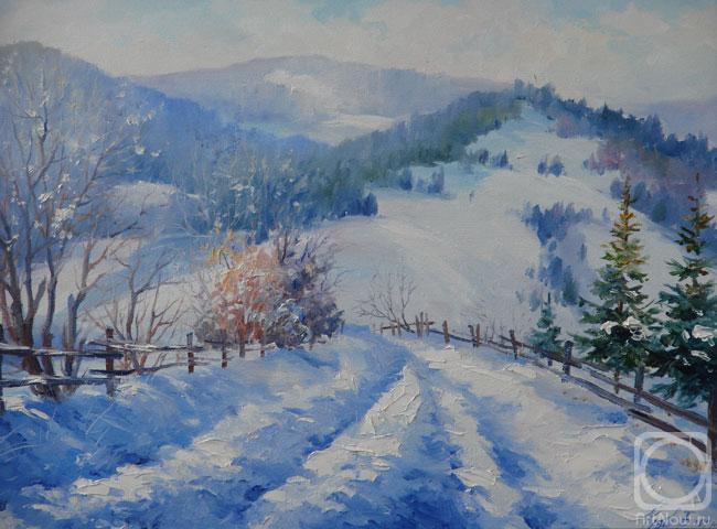Буковельская зима